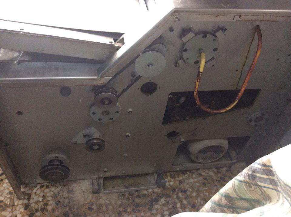Καυστήρες φούρνων πέλλετ και μηχανήματα αρτοποιίας 4 ΚΟΜΠΗΣ ΑΛΛΑΓΗ ΤΑΙΝΙΑΣ 2